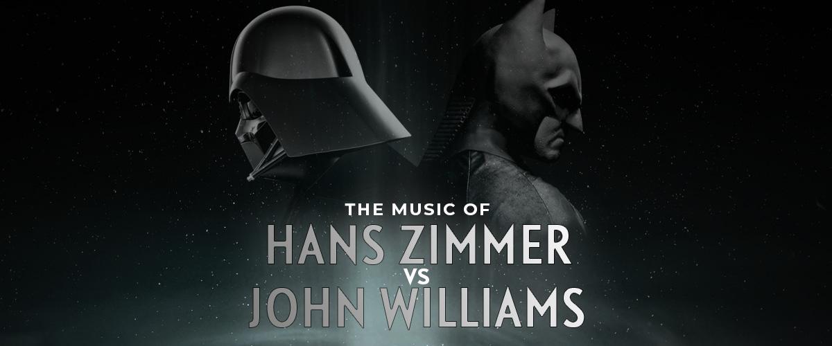 The Music Of Hans Zimmer vs. John Williams